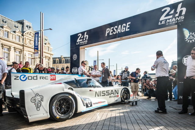 nissan zeod rc prepares for  hours of le mans debut at