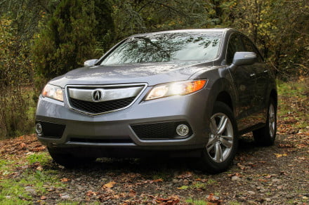 2015 Acura RDX first drive front angle 2