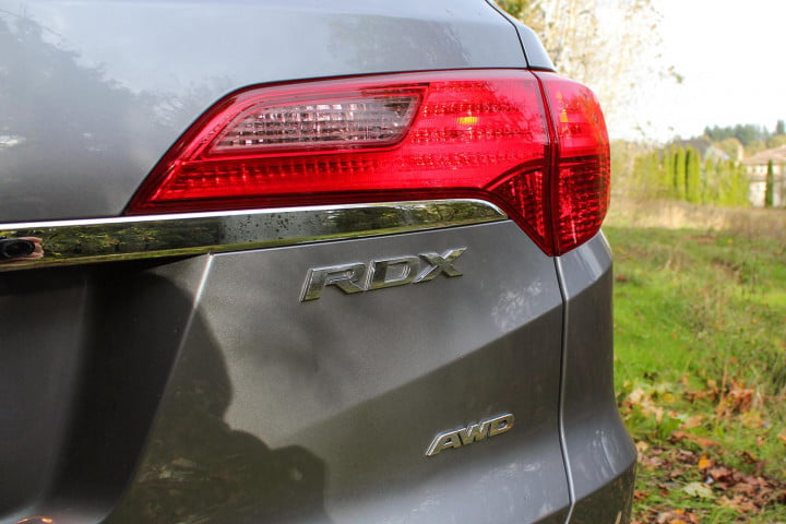 acura rdx joyride first drive rear taillights