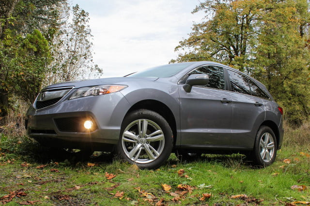 2015 Acura RDX first drive side low