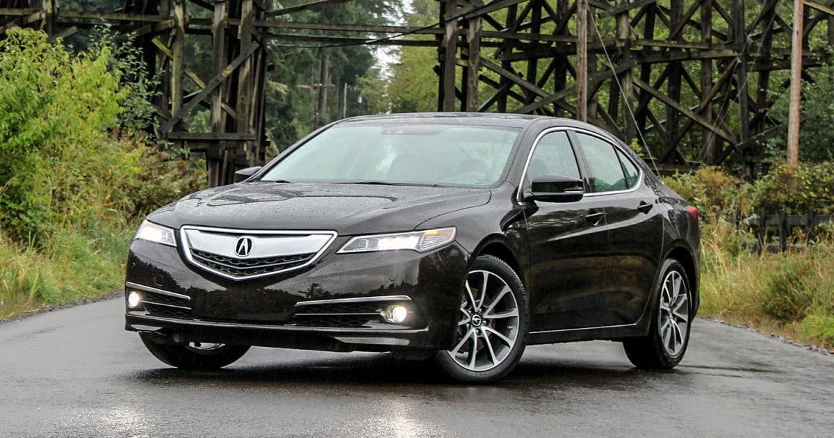 2015 acura tlx v6 sh awd review digital trends. Black Bedroom Furniture Sets. Home Design Ideas