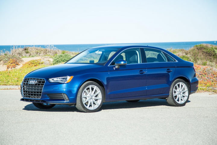audi a review front angle