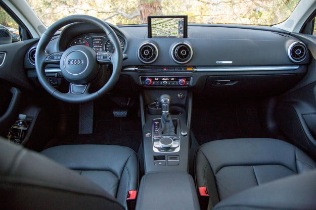 2015 Audi A3 front drivers full