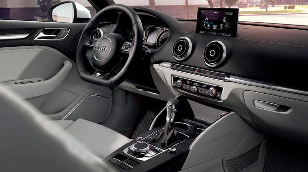 2015 audi a3 front interior dash tech