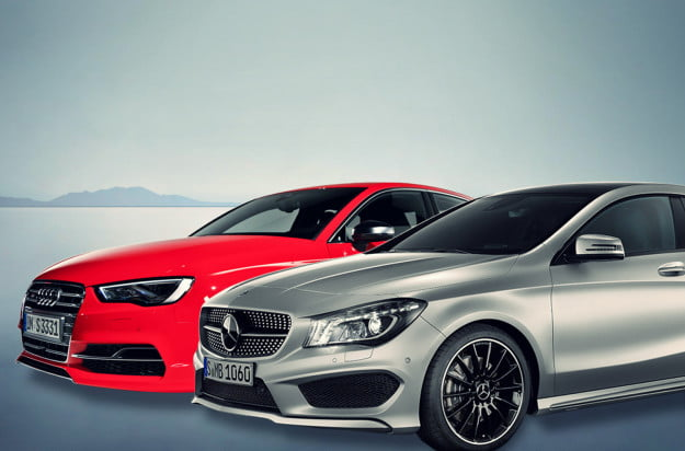 2015 audi a3 vs 2014 mercedes benz cla250 header