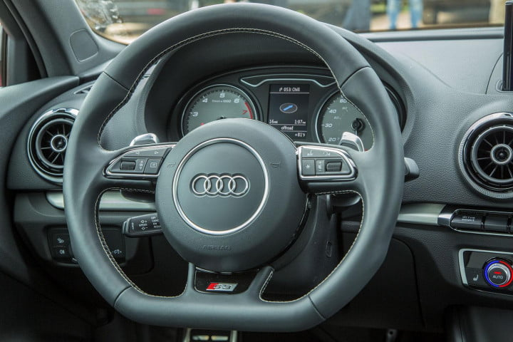 2015 Audi S3 steering wheel full