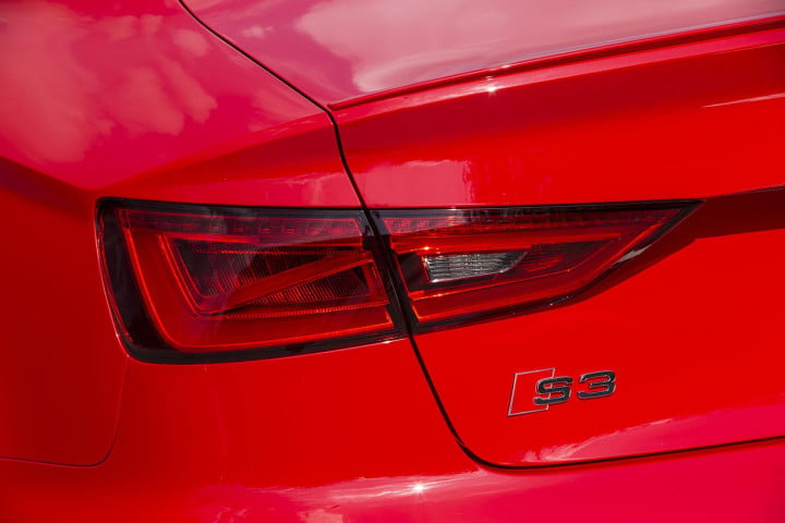 2015 Audi S3 trail light macro