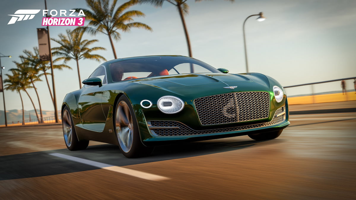 testing windows  s new game mode bentley exp speed concept in forza horizon