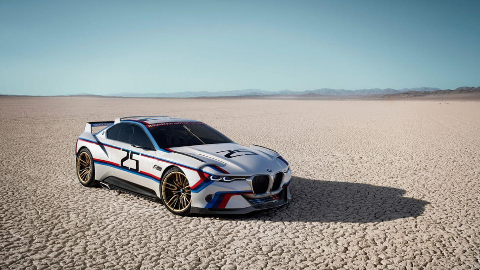 mclaren bmw supercar news performance rumors csl hommage r front angle x c
