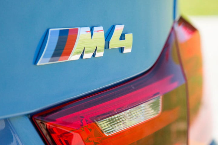 bmw m review badge
