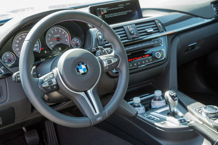 bmw m review steering wheel
