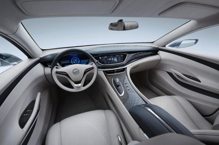 buick avenir concept official specs and pictures
