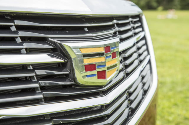 2015 Cadillac ATS Coupe front grill