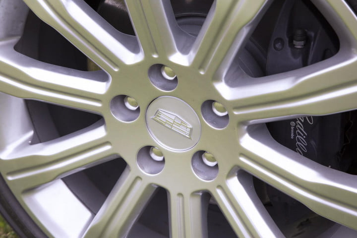 cadillac ats coupe review wheel