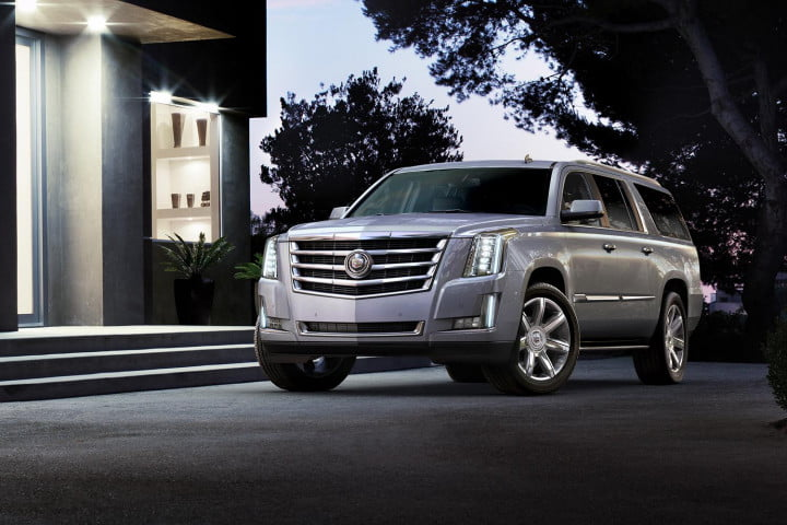 cadillac escalade unveiling front angle