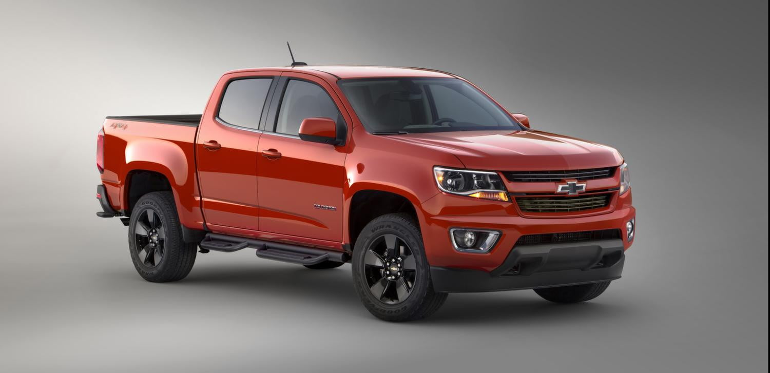chevrolet colorado gearon official pictures and specs digital trends. Black Bedroom Furniture Sets. Home Design Ideas