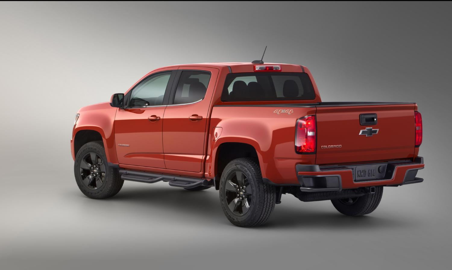 With the gearon edition chevy colorado the adventure comes with