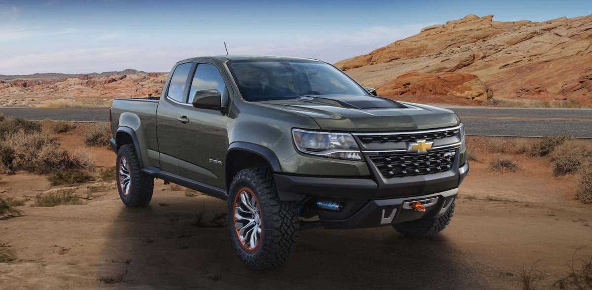 chevrolet colorado zr  concept official specs and pictures coloradozr