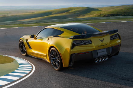 Did a 2015 Corvette Z06 join