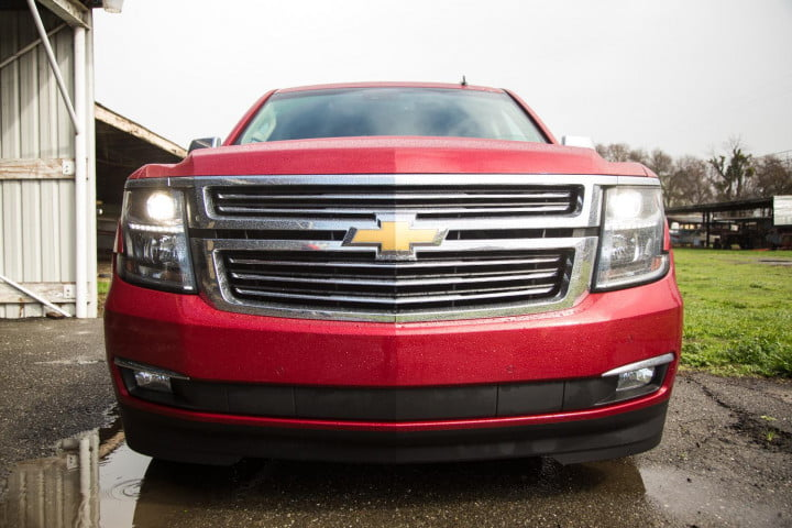 chevrolet tahoe review front full