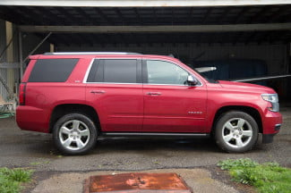 2015 Chevy Tahoe right