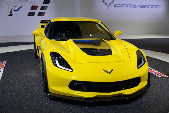 what we learned  detroit auto show corvette z
