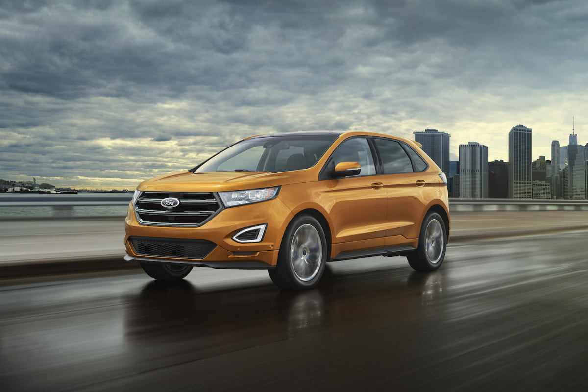 ford to add four new suv models  edge sport