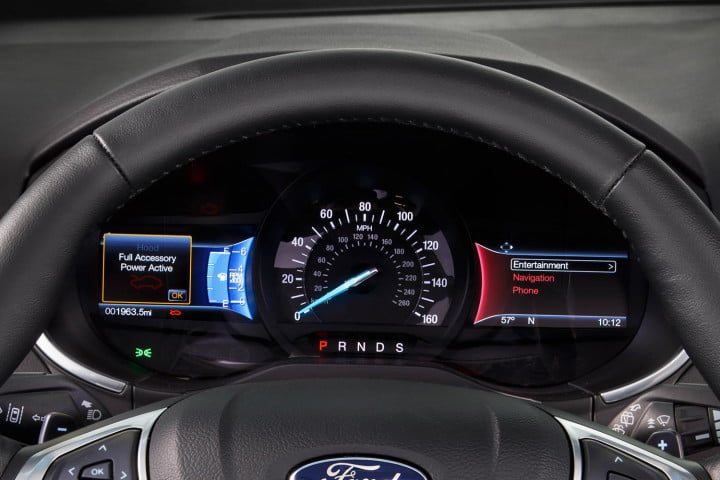 first drive  ford edge sport