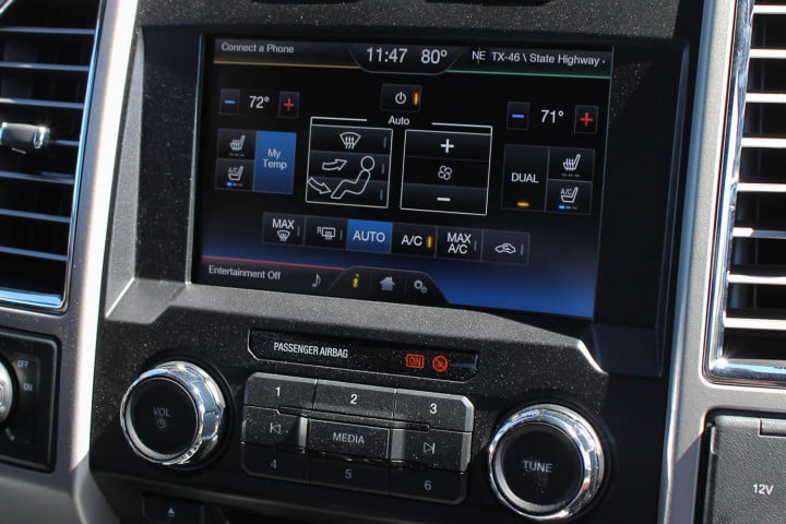 first drive  ford f console