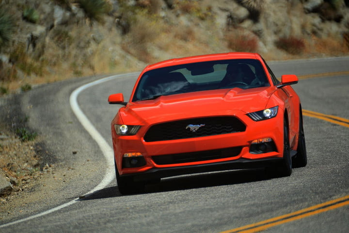 first drive  ford mustang driving