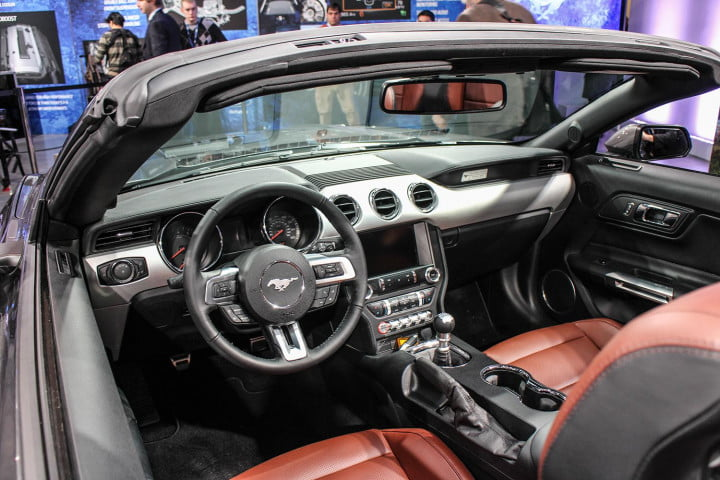 ford mustang unveil interior