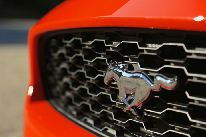 first drive  ford mustang logo
