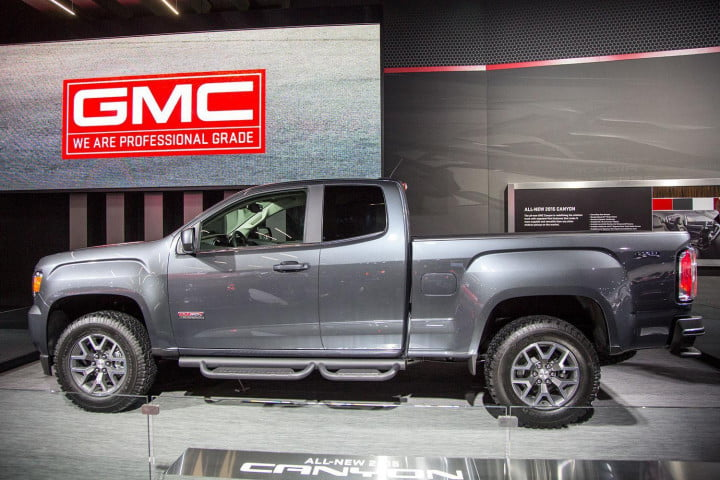 what we learned  detroit auto show gmc canyon