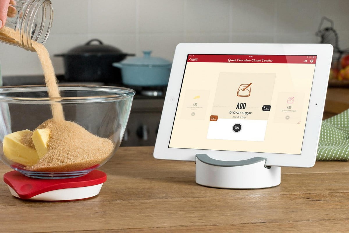drop kitchen scale adds iphone app and cocktail recipes  home guide smart