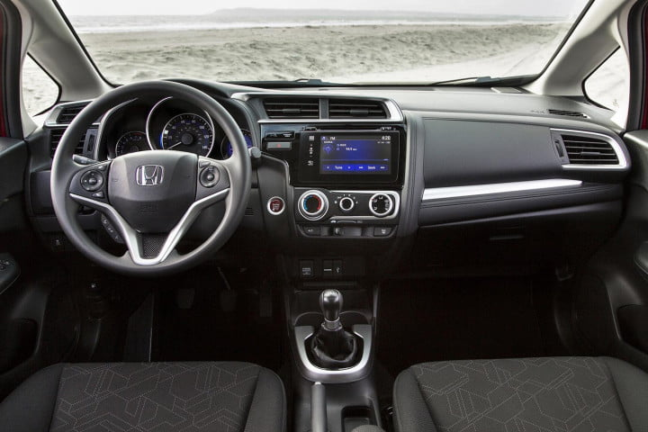honda fit review front cabin