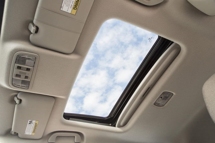 honda fit review sunroof
