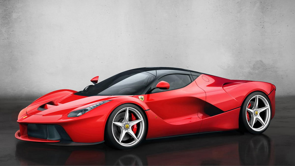 ferrari rules out turbo v  engines but will use kers boost laferrari xx