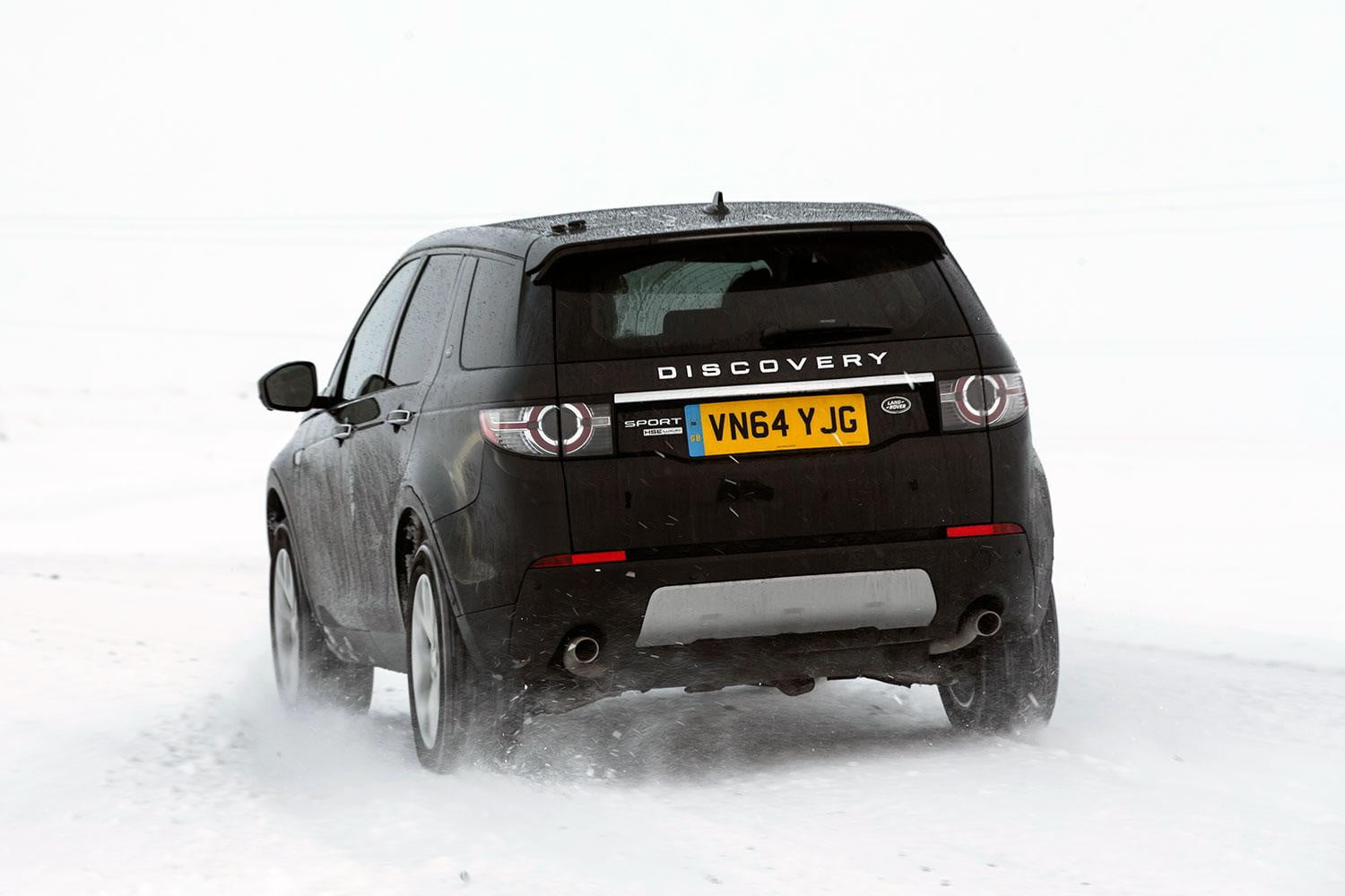 first drive 2015 land rover discovery sport digital trends. Black Bedroom Furniture Sets. Home Design Ideas