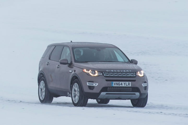 first drive  land rover discovery sport