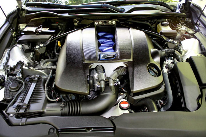 first drive  lexus rc f engine macro