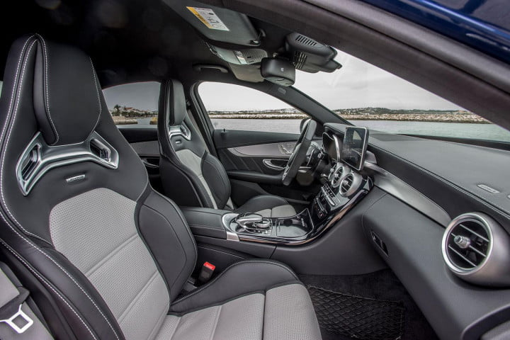 mercedes amg c and s first drive model interior side