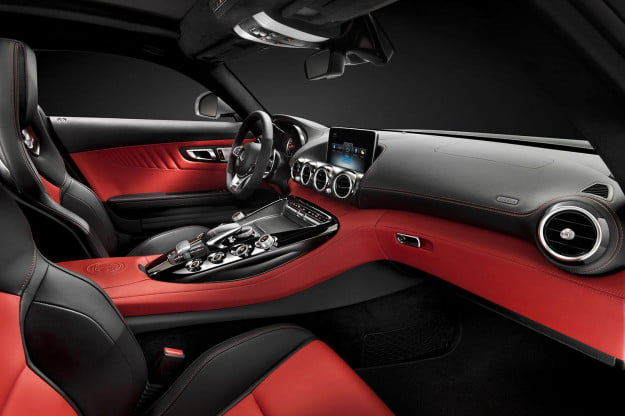 2015 Mercedes AMG GT interior side