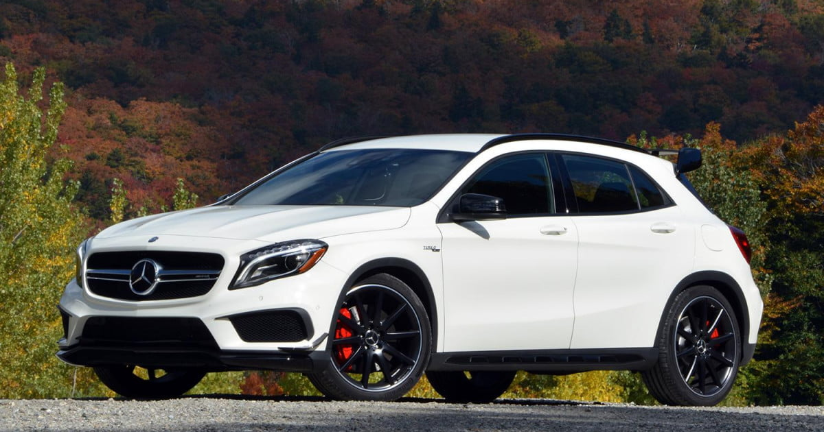 First Drive 2015 Mercedes Benz Gla45 Amg Digital Trends