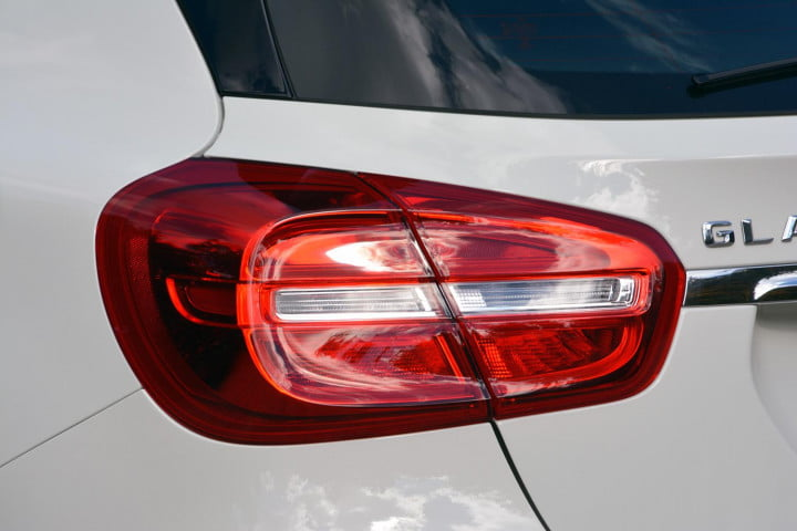 mercedes benz gla amg first drive tail light