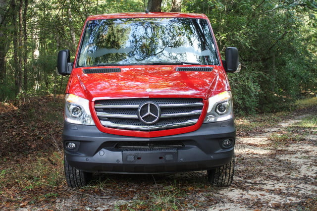 2015 Mercedes-Benz Sprinter front red