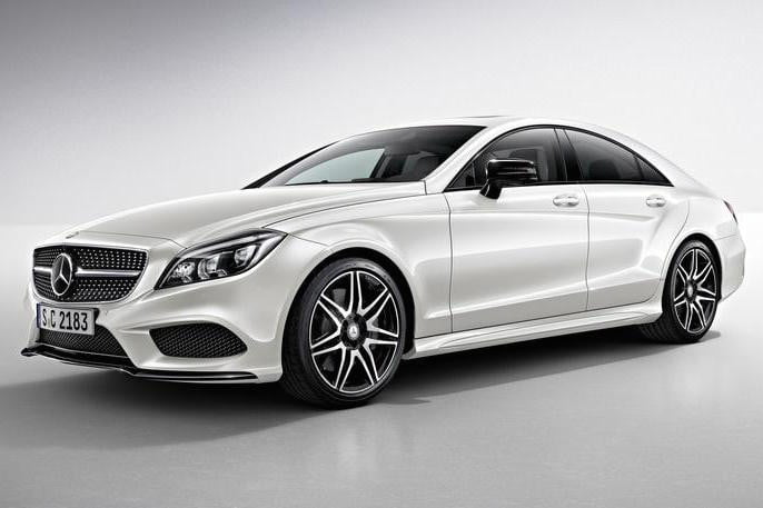 2015 Mercedes CLS front angle