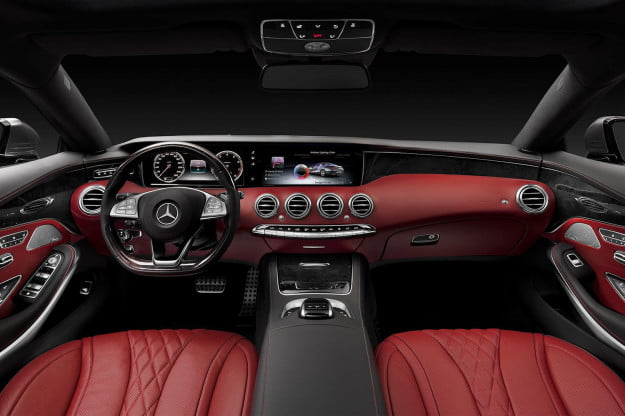 2015 Mercedes S Class Coupe front cabin