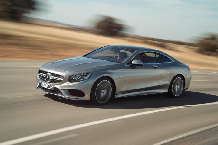 mercedes benz s class coupe right side angle