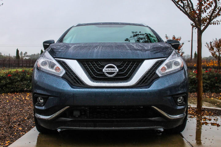nissan murano first drive review front