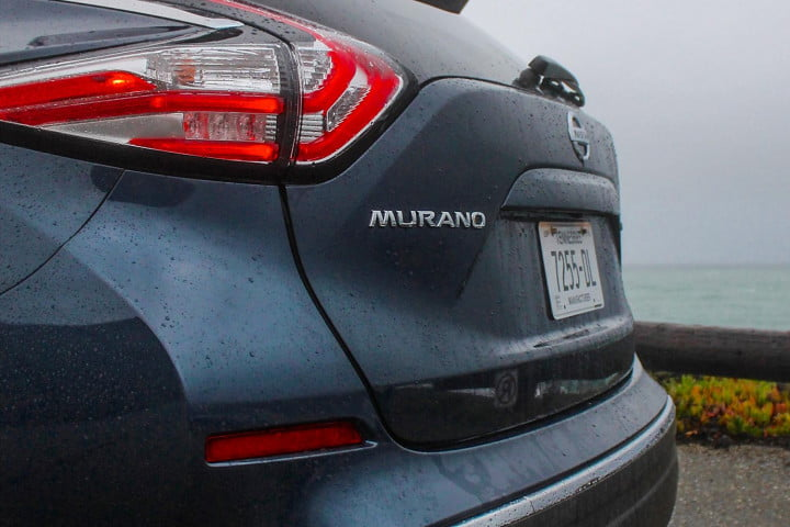 nissan murano first drive review rear macro